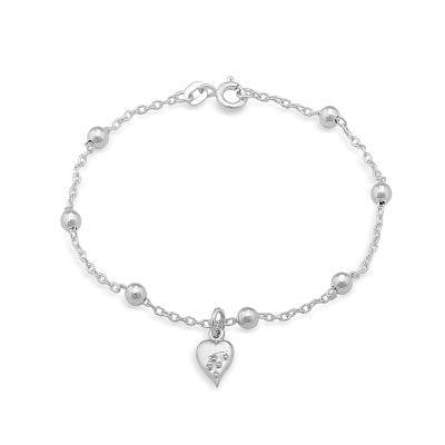 Garrett MallonGarrett Mallon Cloicin Heart Bracelet