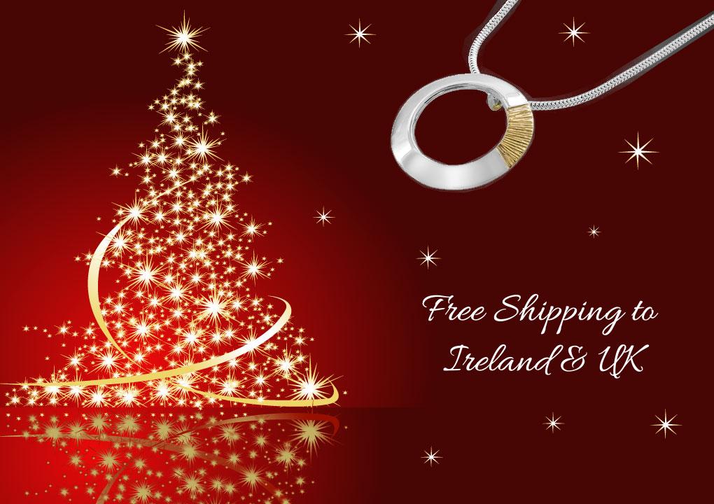 Christmas Gifts Free Shipping Ireland UK - Garrett Mallon Goldsmith