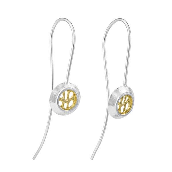Garrett Mallon Woven Drop-Wire-earrings
