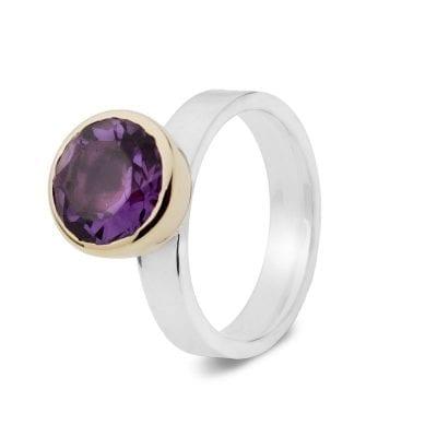 Garrett Mallon Amethyst ring