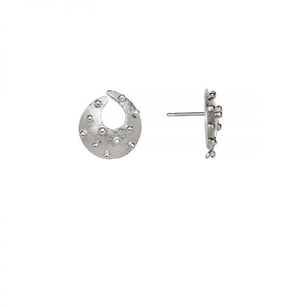Torc earrings stud